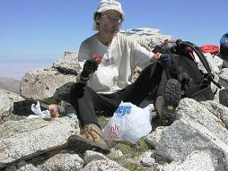 atop Ibapah Peak