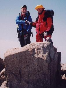 Chuck and Sjaak on top